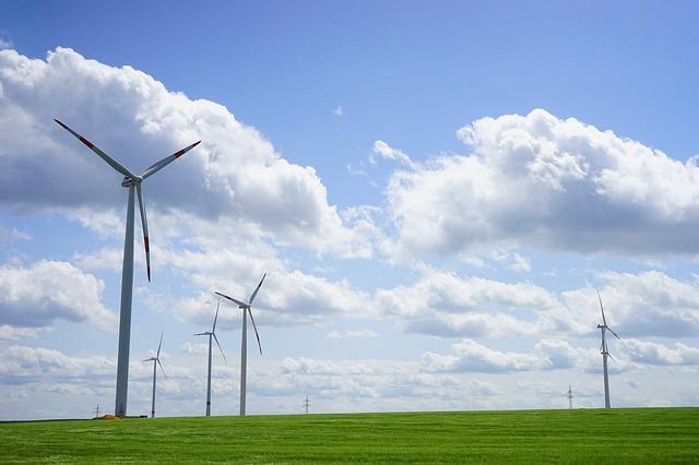 Energia pulita prodotta con l'Eolico