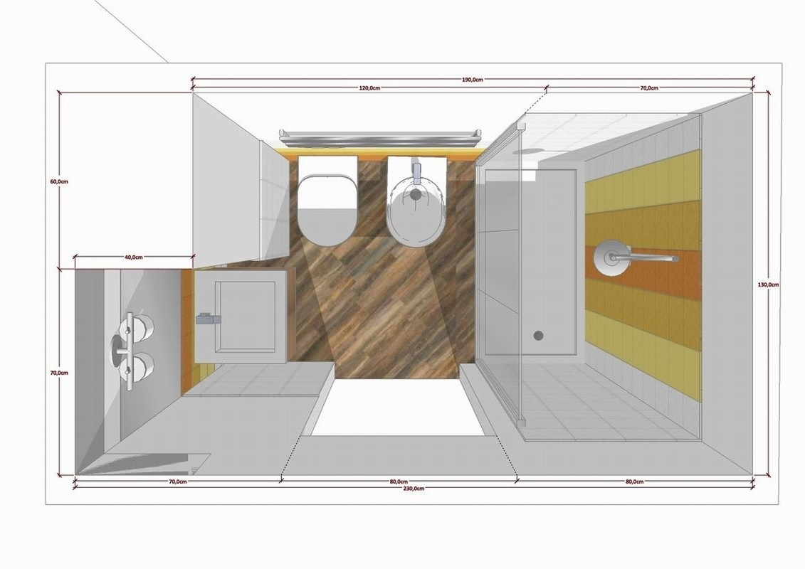 Architetto interni online come scegliere il migliore edizioni diversa sintonia - Progetto bagno piccolo idee ...