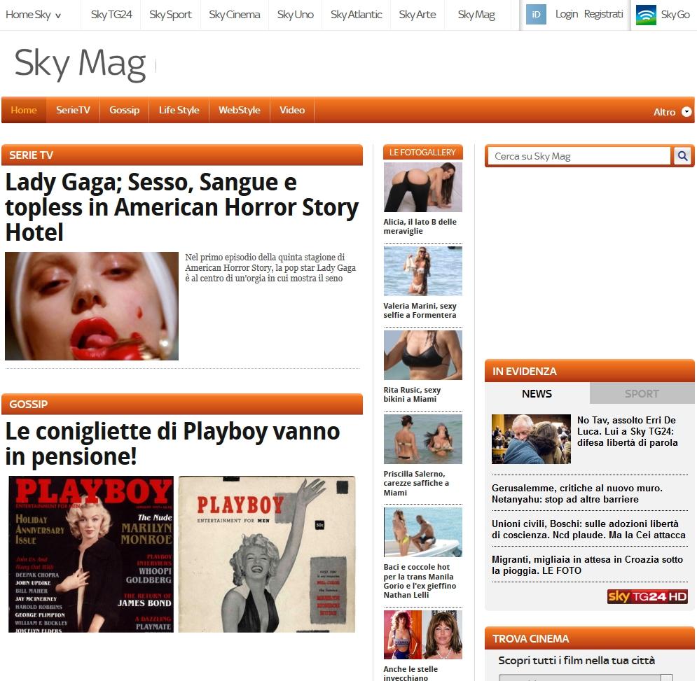 Gossip news: notizie in tempo reale