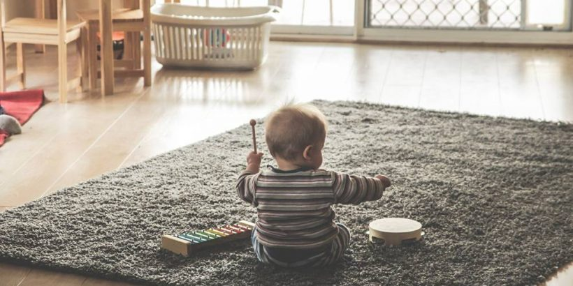 benefici dei giocattoli musicali per i bambini